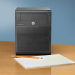 HP Microserver N54L using Storage Spaces with Windows Server 2012 R2 Essentials