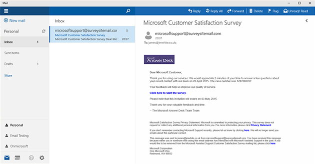 how to change the look of outlook on windows 10